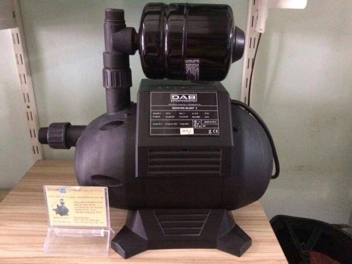 Bơm tăng áp Booster Silent tự động chạy và dừng bằng mạch điện tử 0.75HP