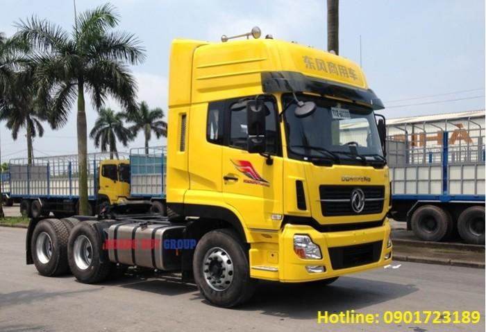 Đầu kéo Dongfeng 375Hp