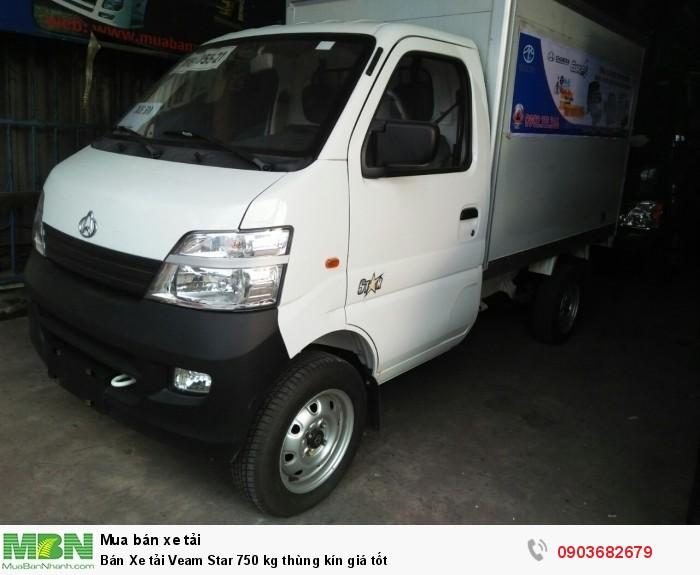 Bán Xe tải  Veam Star 750 kg thùng kín giá tốt