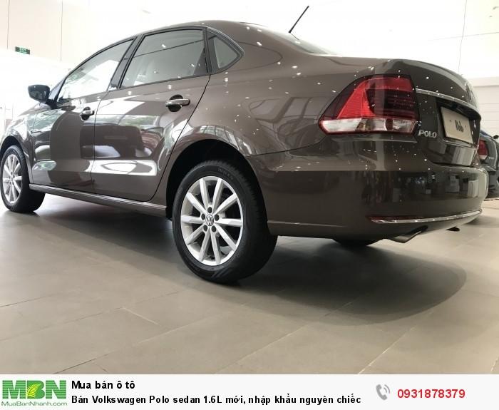 Bán Volkswagen Polo sedan 1.6L mới, nhập khẩu nguyên chiếc, hỗ trợ vay 80% giá trị xe 3