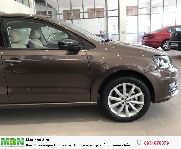 Bán Volkswagen Polo sedan 1.6L mới, nhập khẩu nguyên chiếc, hỗ trợ vay 80% giá trị xe 5