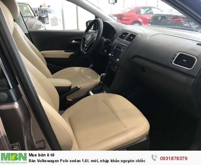 Bán Volkswagen Polo sedan 1.6L mới, nhập khẩu nguyên chiếc, hỗ trợ vay 80% giá trị xe 7