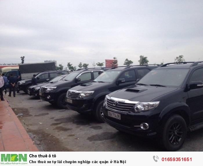 Cho thuê xe tự lái chuyên nghiệp các quận ở Hà Nội