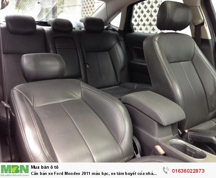 Cần bán xe Ford Mondeo 2011 màu bạc, xe tâm huyết của nhà xài kĩ còn rất mới 5