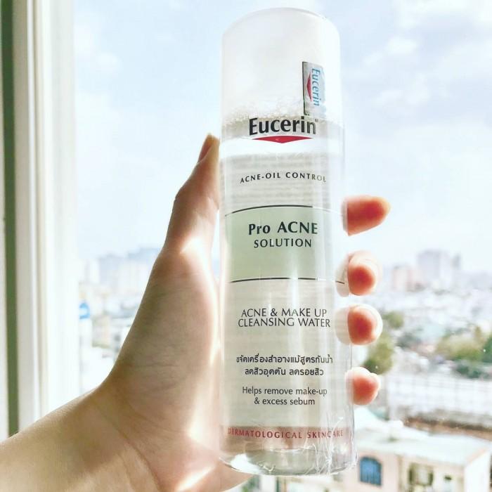Nước Tẩy Trang Da Mụn Eucerin Pro ACNE Solution Acne & Make-up Cleansing Water 200ml