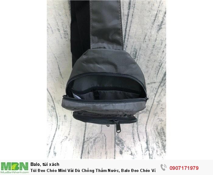 Túi Đeo Chéo Mini Vải Dù Chống Thấm Nước, Balo Đeo Chéo Vải Dù Chống Thấm Nước Ms 614