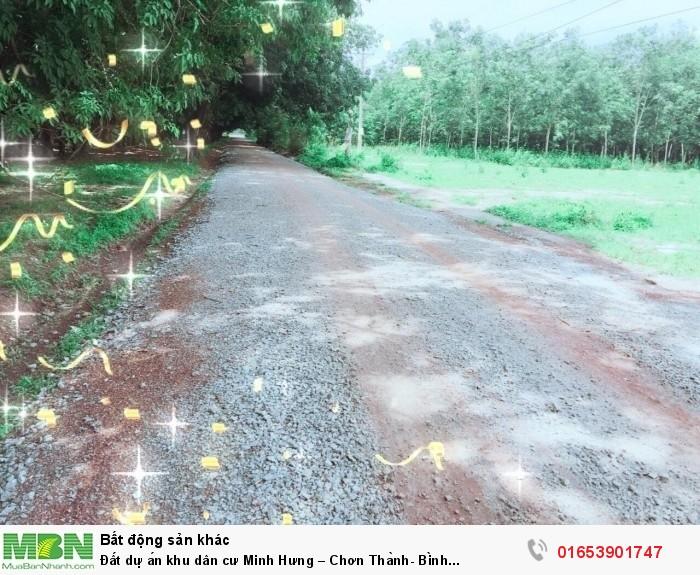 Đất dự án khu dân cư Minh Hưng – Chơn Thành- Bình Phước/cách ql 13 chỉ 2km
