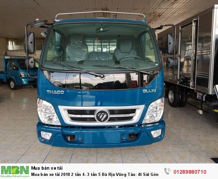 Mua bán xe tải 2018 2 tấn 4- 3 tấn 5 Bà Rịa Vũng Tàu- đi Sài Gòn- trả góp lãi thấp 2