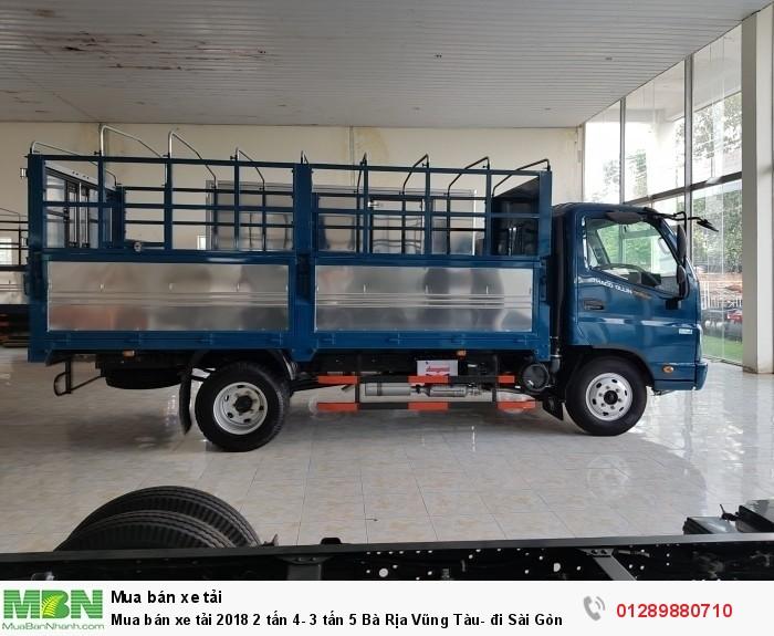Mua bán xe tải 2018 2 tấn 4- 3 tấn 5 Bà Rịa Vũng Tàu- đi Sài Gòn- trả góp lãi thấp 3