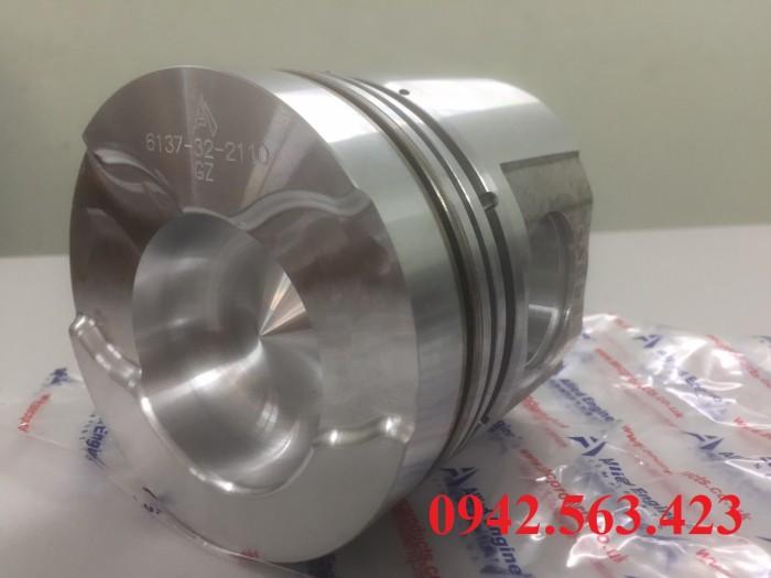 Phụ tùng động cơ – Bộ hơi S6D105 lắp cho PC200-3, PC200LC-3