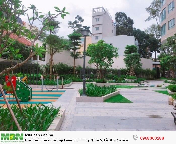 Bán penthouse cao cấp Everrich Infinity Quận 5, kế ĐHSP, sân vườn riêng, view Bitexco Q1, duy nhất!
