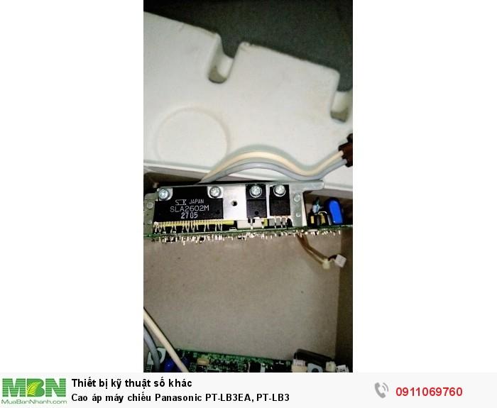 Cao áp máy chiếu Panasonic PT-LB3EA, PT-LB30