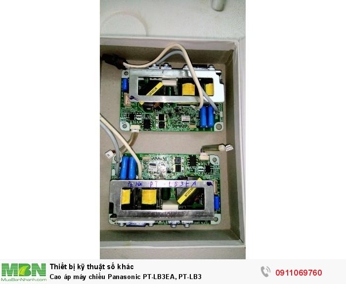 Cao áp máy chiếu Panasonic PT-LB3EA, PT-LB33