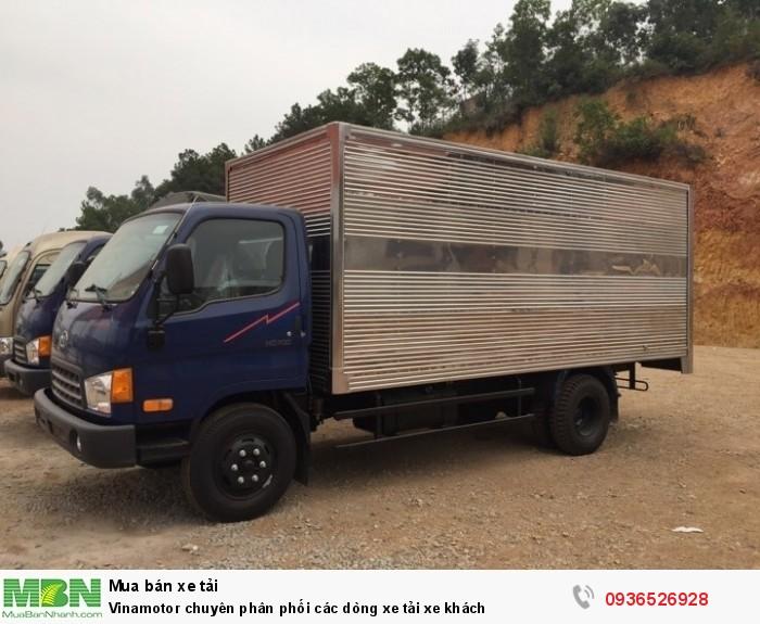 Vinamotor chuyên phân phối các dòng xe tải xe khách