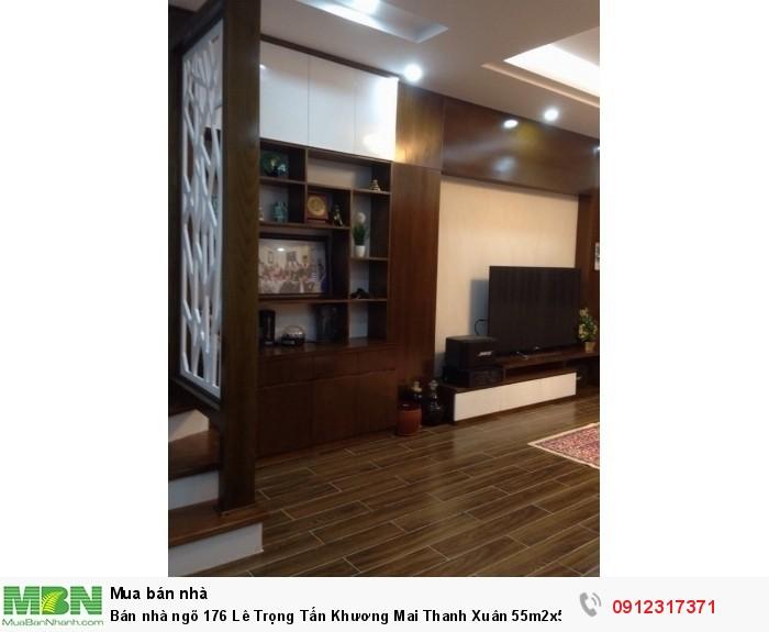 Bán nhà ngõ 176 Lê Trọng Tấn Khương Mai Thanh Xuân 55m2x5t mặt tiền 5,5m giá 8,8 tỷ ô tô vào nhà