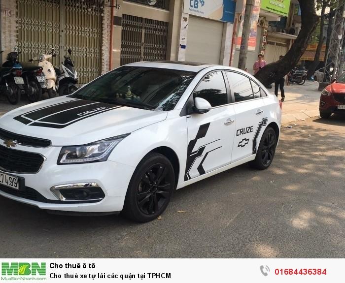 Cho thuê xe tự lái các quận tại TPHCM 0