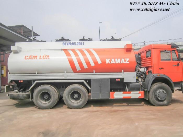 Xe xăng dầu kamaz 53229 (6x4) giá rẻ nhất thị trường