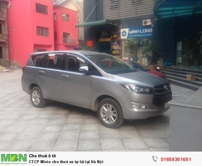 CTCP Mioto cho thuê xe tự lái tại Hà Nội