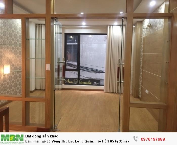 Bán nhà ngõ 65 Võng Thị, Lạc Long Quân, Tây Hồ 3.05 tỷ 35m2x5T