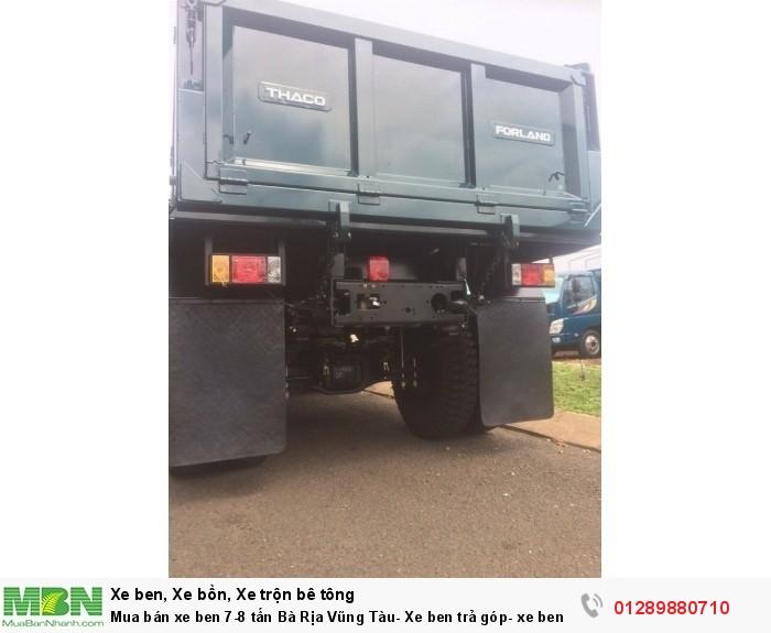 Mua bán xe ben 7-8 tấn Bà Rịa Vũng Tàu- Xe ben trả góp- xe ben 2018 4