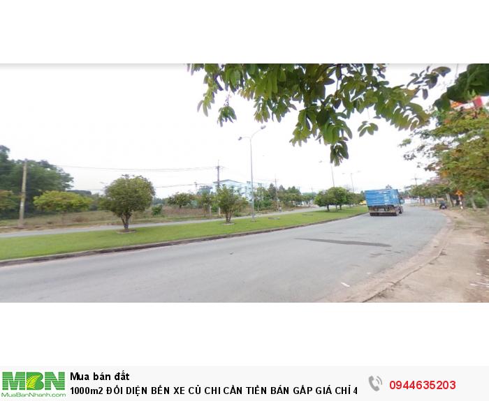 Cần tiền bán gấp đất đối diện bến xe Củ Chi,đất vuông vức thuận tiện phân lô,