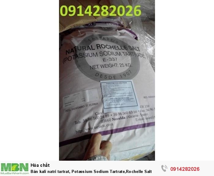 Bán kali natri tartrat, Potassium Sodium Tartrate,Rochelle Salt0