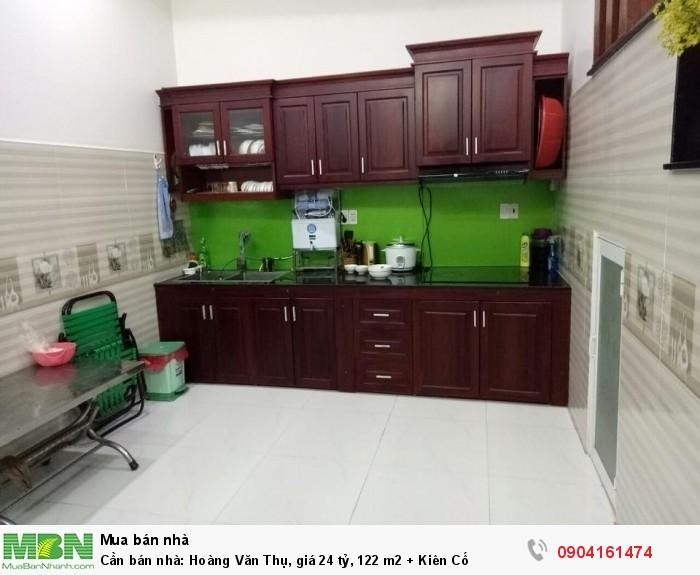 Cần bán nhà: Hoàng Văn Thụ, giá 24 tỷ, 122 m2 + Kiên Cố