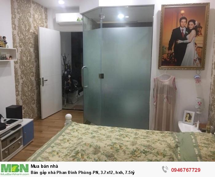 Bán gấp nhà Phan Đình Phùng-PN, 3.7x12, hxh