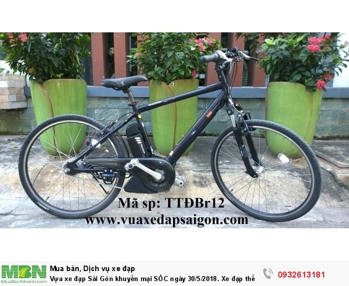 Vựa xe đạp Sài Gòn khuyến mại SỐC ngày 30/5/2018. Xe đạp thể thao điện trợ lực: Bridgestone