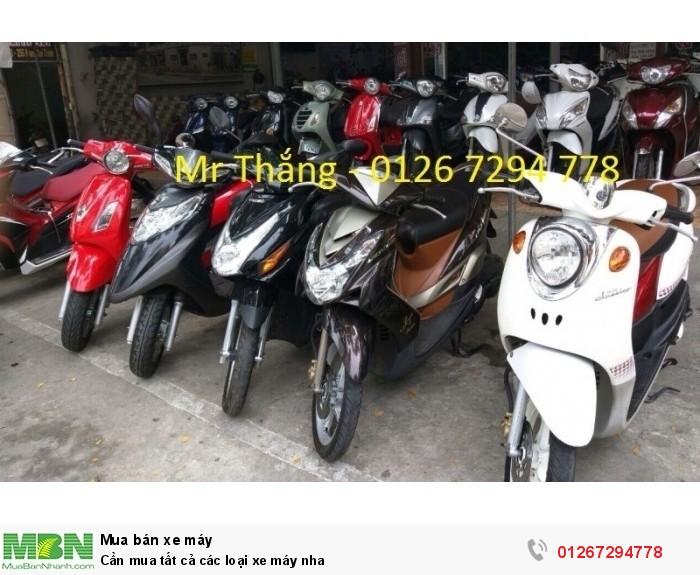 Cần mua tất cả các loại xe máy nha