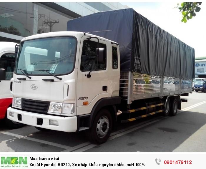 Xe tải Hyundai HD210, Xe nhập khẩu nguyên chiếc, mới 100%