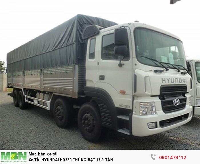 Xe Tải Hyundai Hd320 Thùng Bạt 17.9 Tấn 1