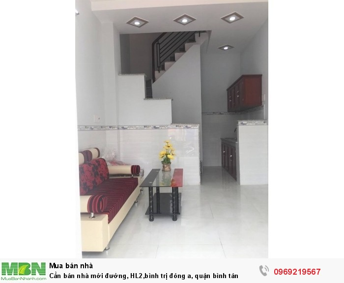 Cần bán nhà mới đường, HL2, Bình Trị Đông A, Quận Bình Tân