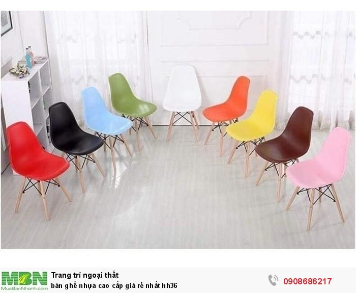 Bàn ghế nhựa cao cấp giá rẻ nhất hh360