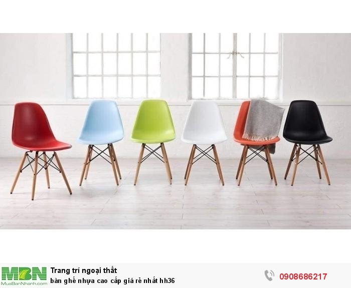 Bàn ghế nhựa cao cấp giá rẻ nhất hh361