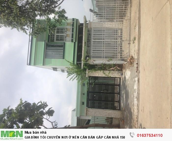 Gia Đình Tôi CHuyển Nơi Ở Nên Cần Bán Gấp Căn Nhà 150M2, MẶT TIỀN ĐƯỜNG LỚN 16M, SÁT BỆNH VIỆN, CHỢ, TRƯỜNG HỌC.