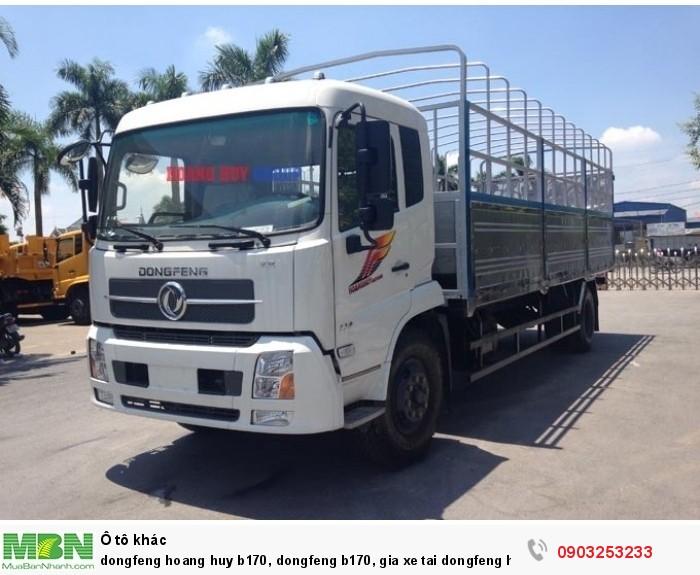 Dongfeng Hoang Huy B170 9,6t 2018