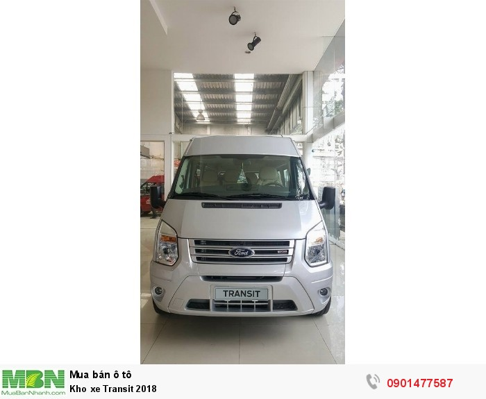 Kho xe Transit 2019