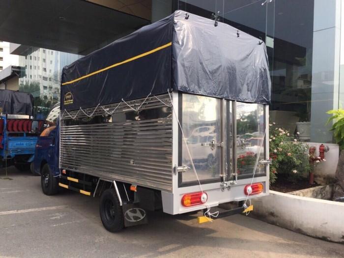Xe tải hyundai 1.5 tấn thùng mui bạt, hổ trợ trả góp, lãi xuất thấp theo ưu đãi Ngân Hàng nhà nước