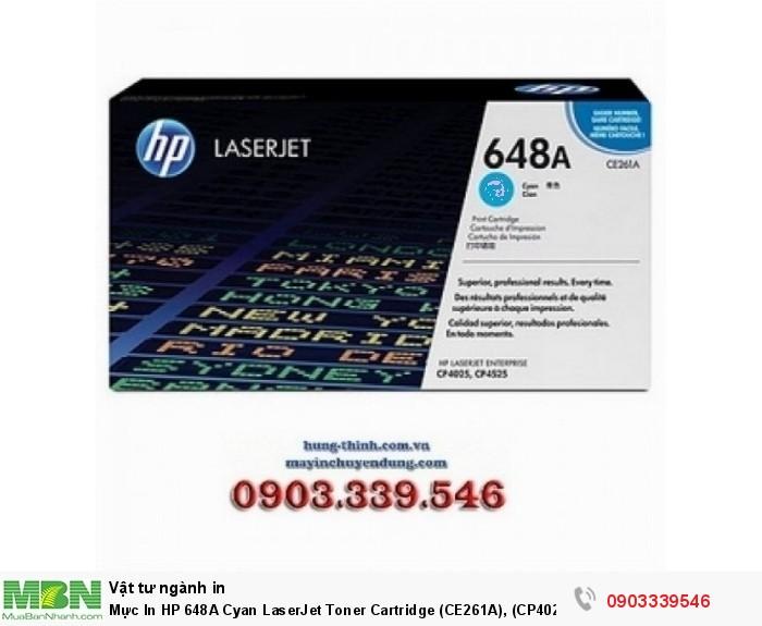 HP 648A Cyan LaserJet Toner Cartridge (CE261A)0