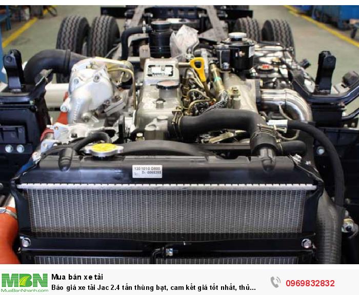 Xe tải Jac 2.4 tấn vận hành linh hoạt và mạnh mẽ, phù hợp cho mọi đối tượng sử dụng, đã được rất nhiều khách hàng tin cậy - Sở hữu xe ngay với giá ưu đãi gọi hotline 0969 832 832 (24/24)