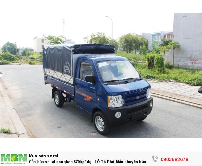 Xe tải dongben 870kg/ đại lí Ô Tô Phú Mẫn chuyên bán các òng xe tải nhẹ 1