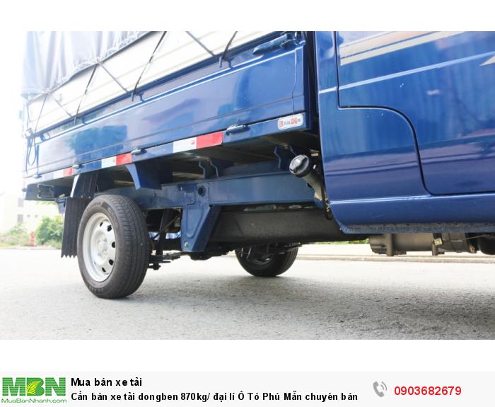 Xe tải dongben 870kg/ đại lí Ô Tô Phú Mẫn chuyên bán các òng xe tải nhẹ 2