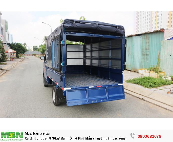 Xe tải dongben 870kg/ đại lí Ô Tô Phú Mẫn chuyên bán các òng xe tải nhẹ 3