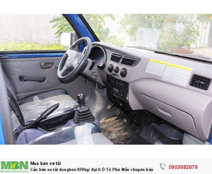 Xe tải dongben 870kg/ đại lí Ô Tô Phú Mẫn chuyên bán các òng xe tải nhẹ 4