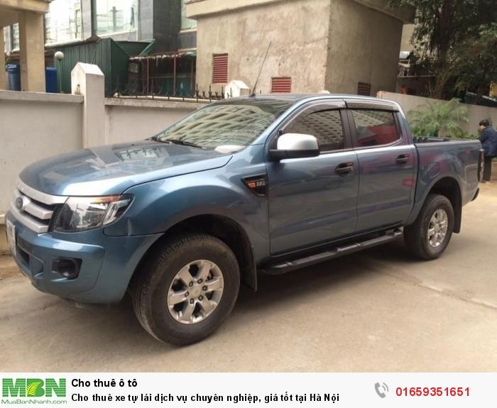 Cho thuê xe tự lái dịch vụ chuyên nghiệp, giá tốt tại Hà Nội