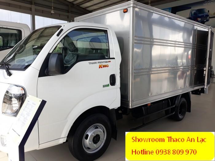 Bán xe tải K250 tải trọng 2 tấn 49, xe đời 2018, tiêu chuẩn khí thải Euro4