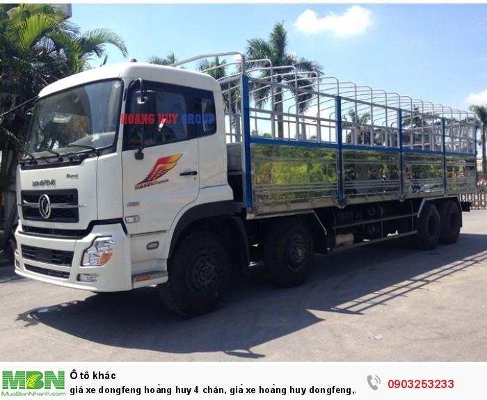 Giá xe Dongfeng Hoàng Huy 4 chân 17t9, 19 tấn 2