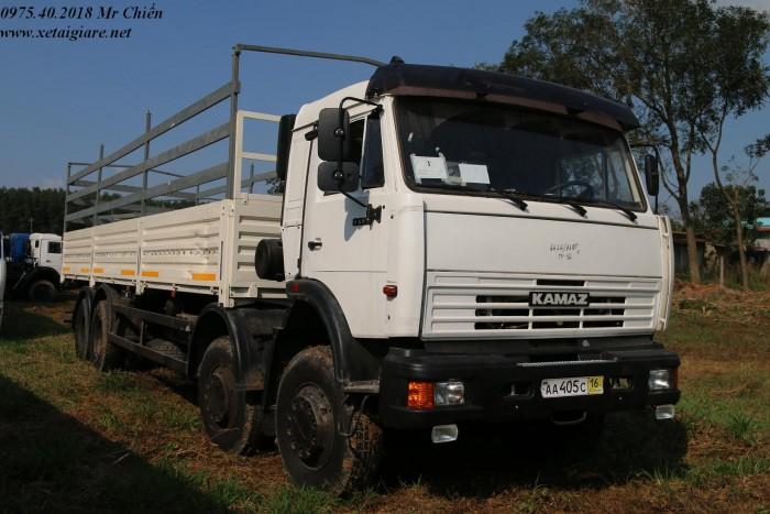 Xe kamaz 6540 long II 30 tấn 4 chân 2 cầu, giá rẻ nhất thị trừơng.