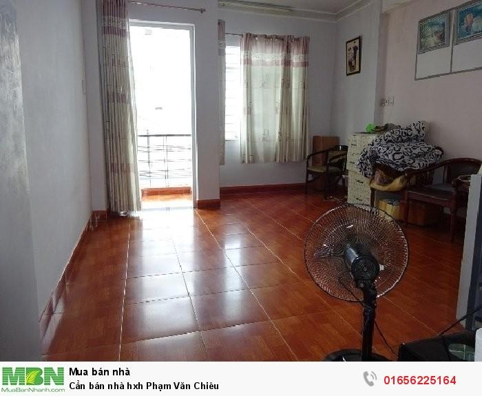 Cần bán nhà hxh Phạm Văn Chiêu